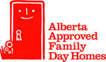 Logo for Alberta Approved Family Day Homes