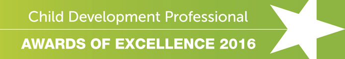 Child Development Professional Awards of Excellence 2015 banner